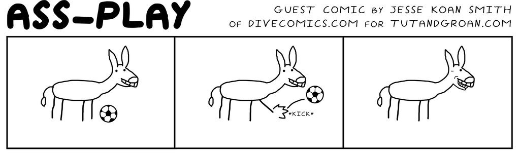 Ass Play By Dive Comics A Tut And Groan Guest Comic Guest Tg Webcomic